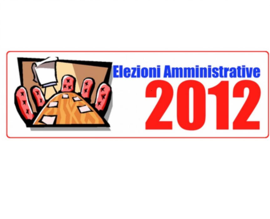 Elezioni amm.ve 2012 - 2
