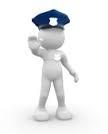 Polizia Locale omino in piedi