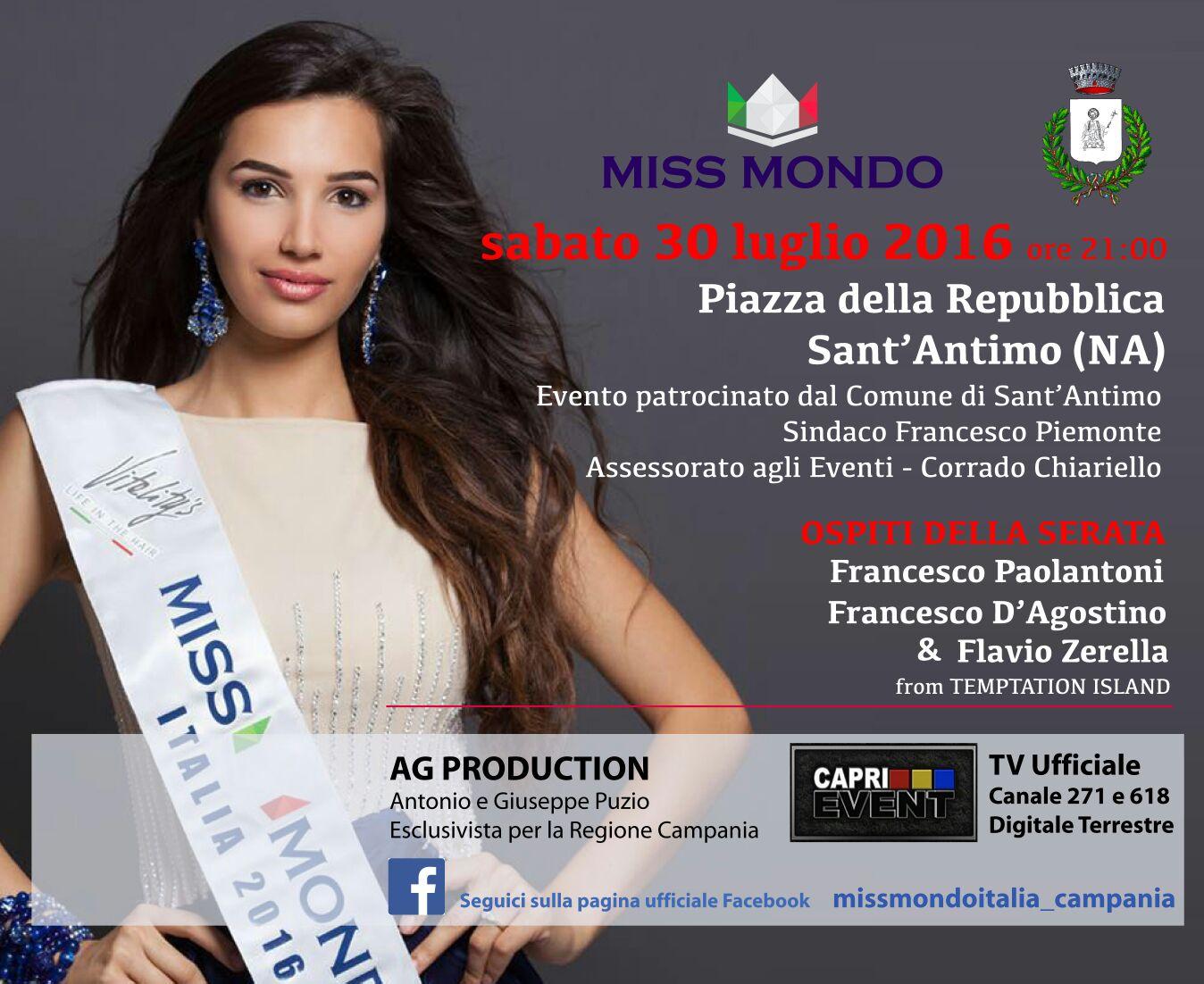 Miss Mondo Italia 2016