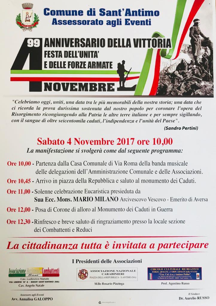Forze Armate manifesto 4 novembre 2017