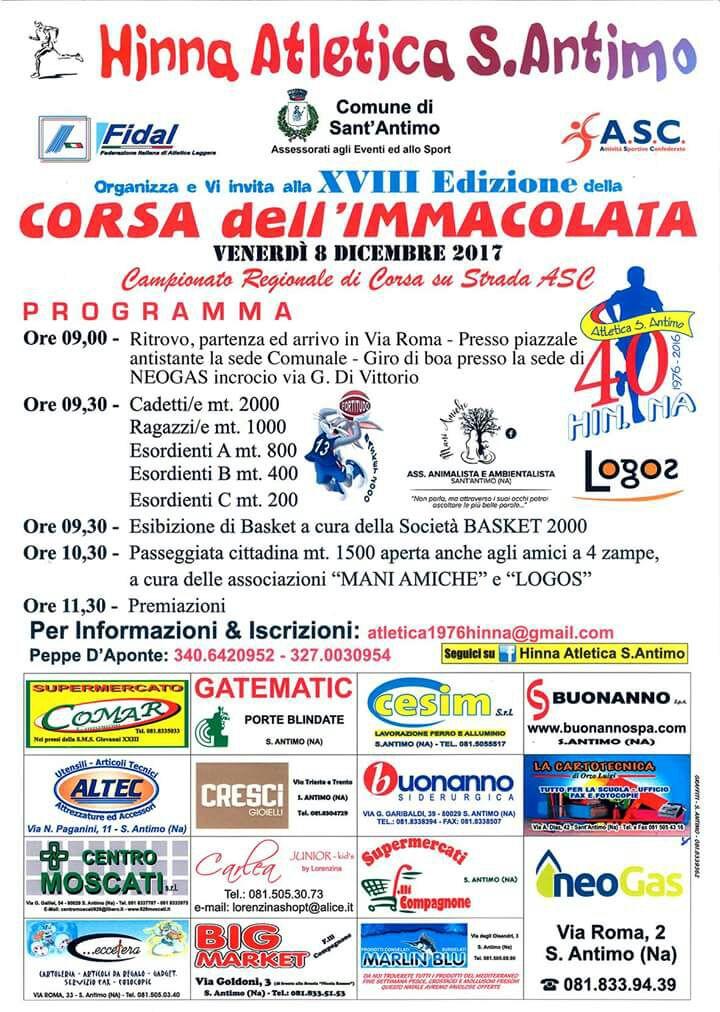 Running Immacolata 2017