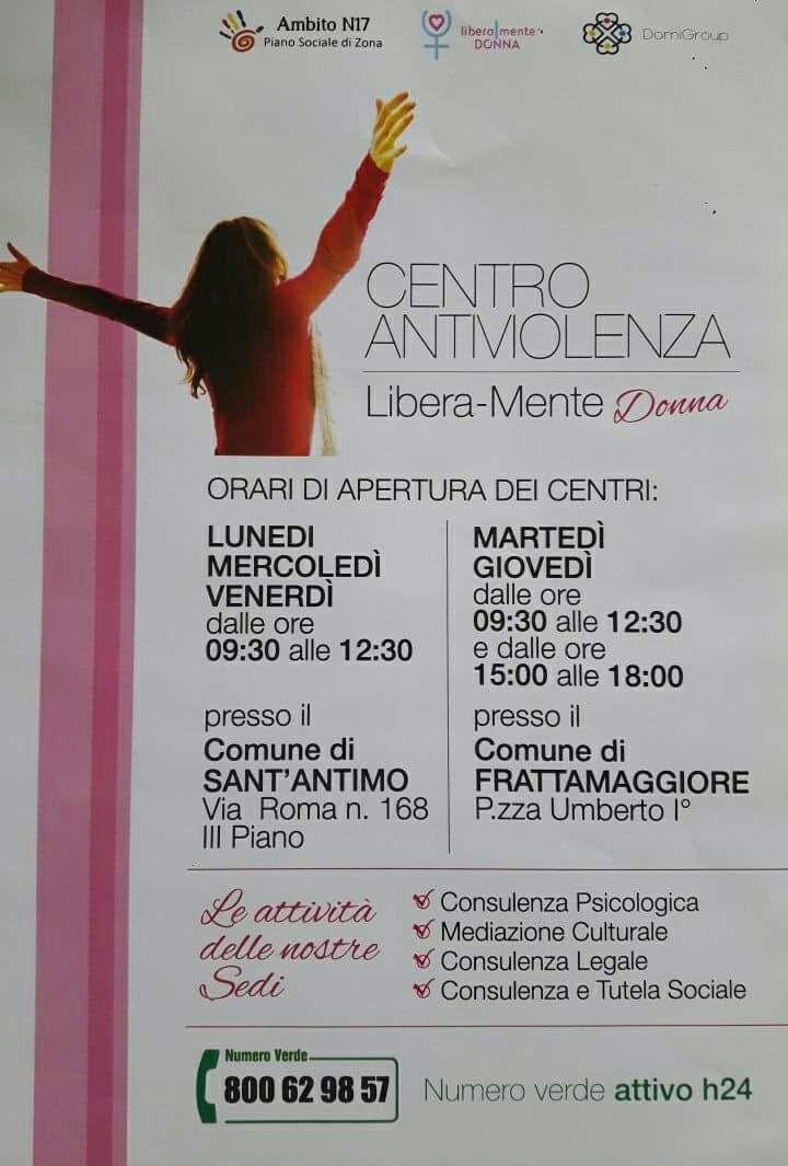 Centro Antiviolenza - Locandina