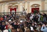 Processione del Santo Patrono davanti al Santuario
